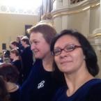 2014 05 11 Miglė, Kristina ir Liepos Arkikatedroje