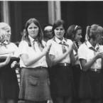 1971 Giruliai. Violeta, Aušra, Giedrė, Violeta, Margarita